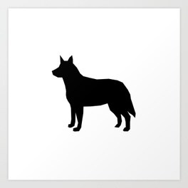 264x264 Cattle Dogs Art Prints Society6