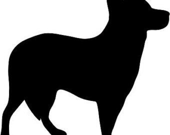 340x270 Cattle Dog Decal Etsy