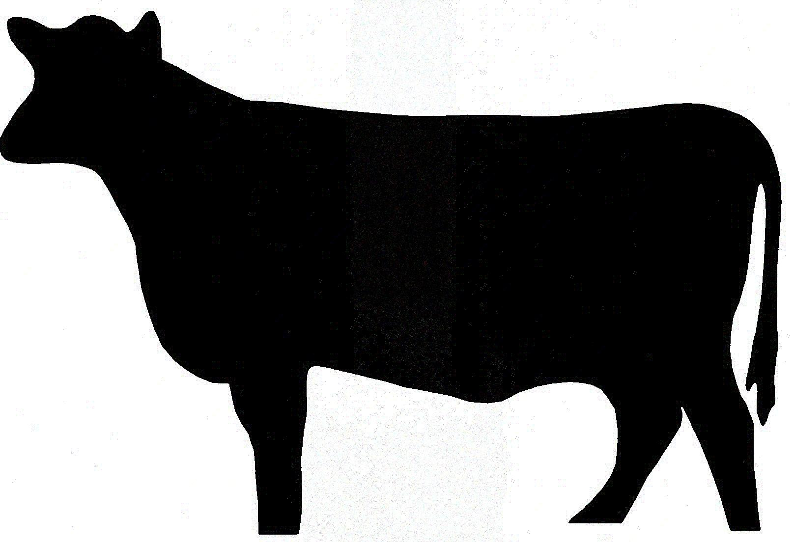 1616x1104 Beef Clipart Silhouette