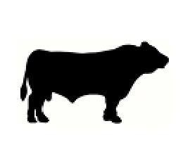 270x233 Cattle Silhouette Clip Art