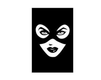 340x270 Catwoman Silhouette Etsy