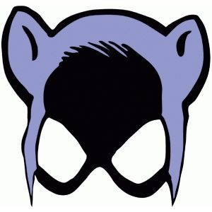 300x300 Silhouette Design Store Catwoman Mask Free Svg