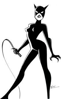 211x340 Catwoman Silhouette Batman! Silhouettes