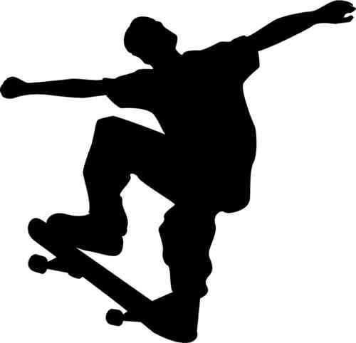 500x482 These Skateboarders Wall Art Are Perfect For Boys Or Girls