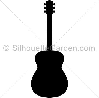 336x334 Acoustic Guitar Silhouette Clip Art. Download Free Versions