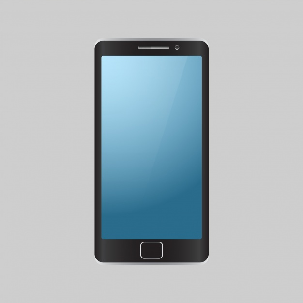 626x626 Isolated Mobile Phone Background Vector Free Download