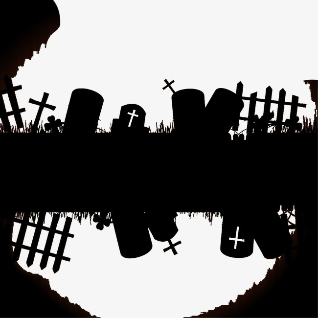 650x650 Cemetery Black And White Picture, Cemetery, Grave, Cross Png Image