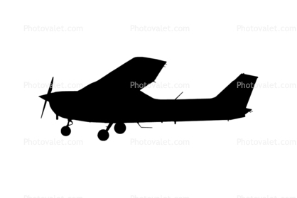 Cessna 172 Silhouette at GetDrawings.com | Free for personal use Cessna 172 Silhouette of your ...