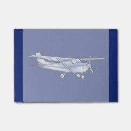 260x260 Airplane Pilot Post It Notes Zazzle
