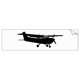 307x307 Cessna Airplane Stickers Zazzle