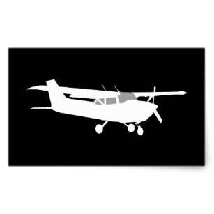 Cessna Airplane Silhouette