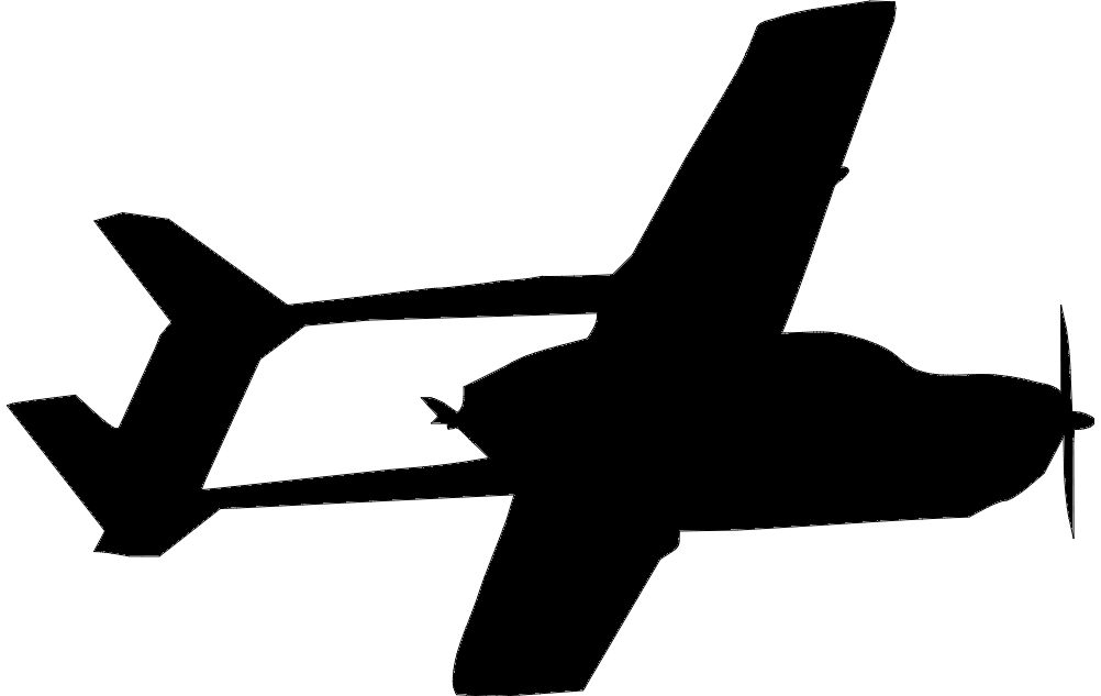 1002x633 Cessna Fying Trace Dxf File Free Download