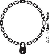167x179 Chain And Padlock Silhouette Vector Clipart Eps Images. 68 Chain
