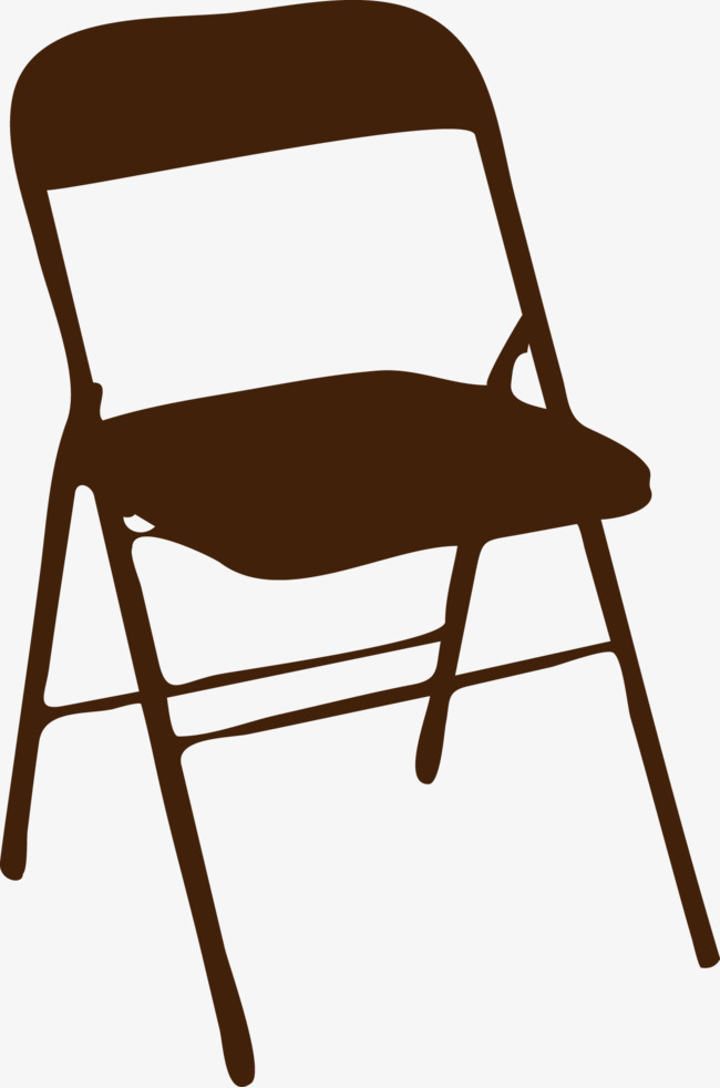 650x982 Folding Chair Silhouette Vector, Vector, Chair, Chair Vector Png