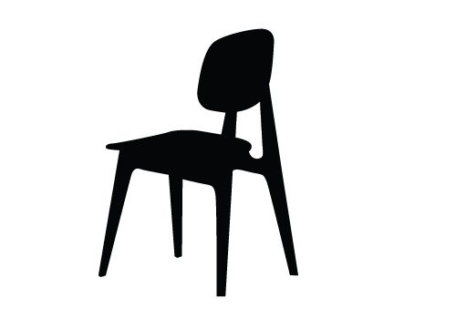 500x350 Chair Silhouette Vector Download Silhouette Graphics General