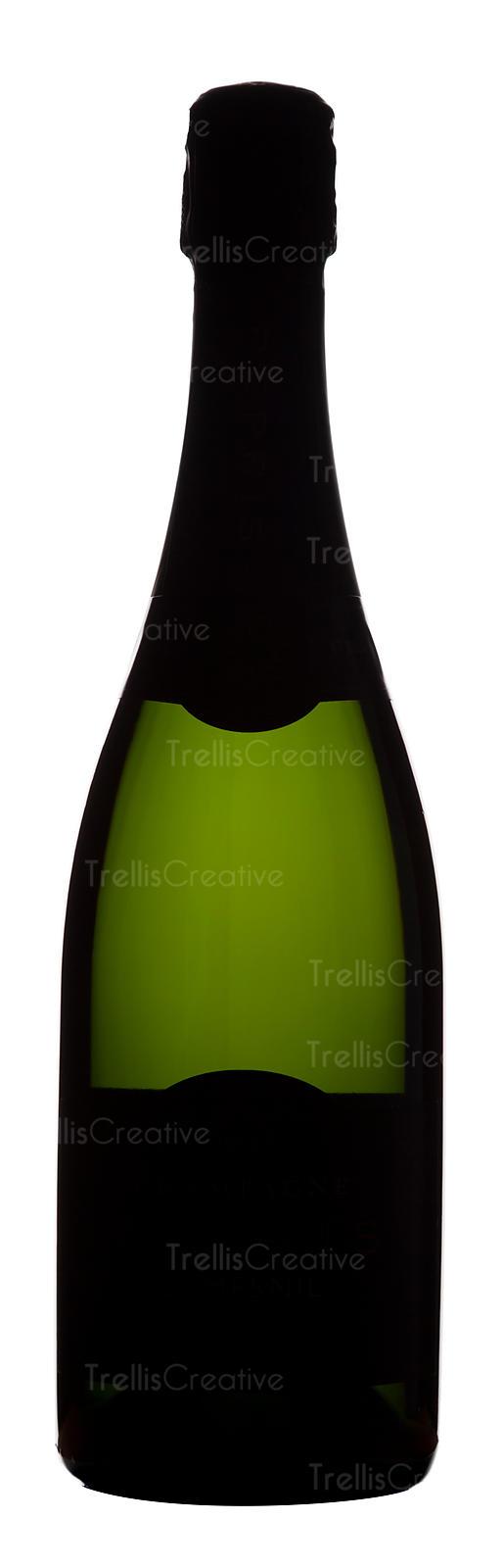 514x1600 Trellis Creative Champagne Bottle
