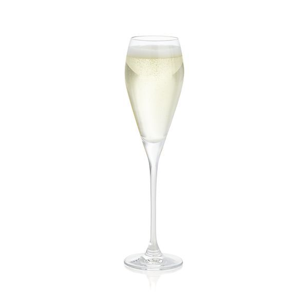 598x598 Silhouette Champagne Glass Crate And Barrel. Need 2 All I Want