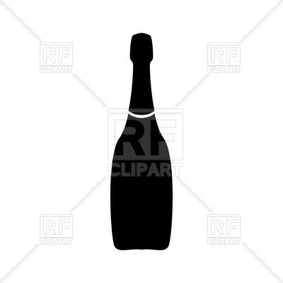 400x400 Champagne Bottle