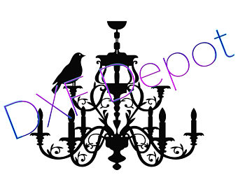 340x270 Chandelier Vector Etsy