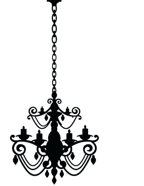 494x640 Silhouette Chandelier Chandelier Silhouette Vector Free Download