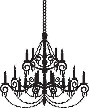 302x368 Chandelier Free Vector Download (67 Free Vector) For Commercial