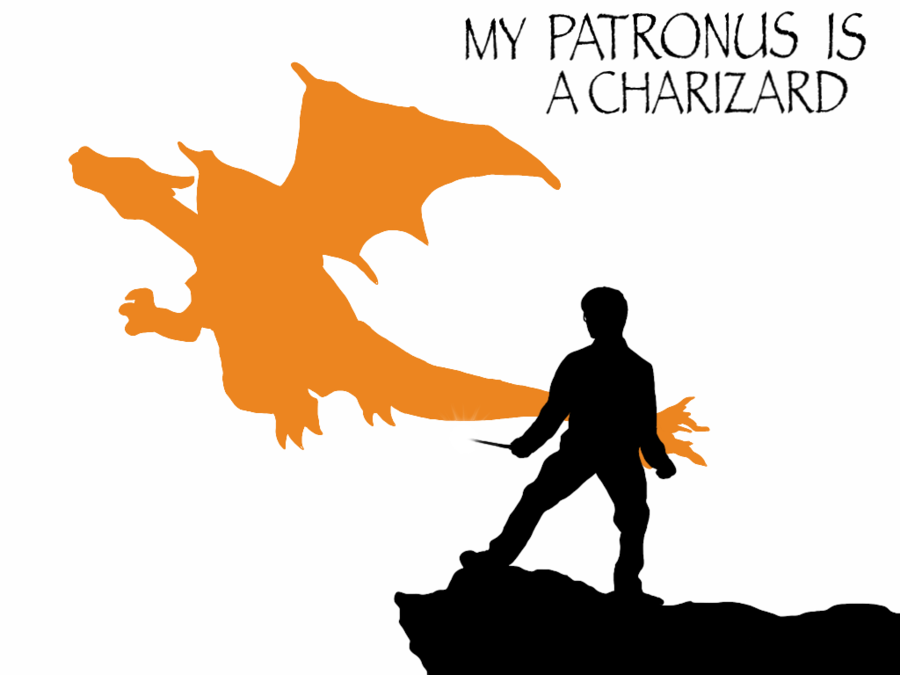900x675 My Patronus Is A Charizard By Mr Saxon