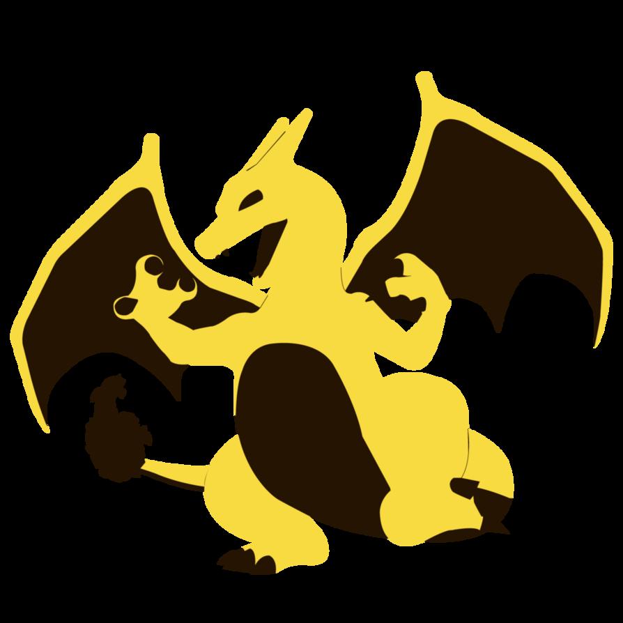 894x894 Charizard, Yellow