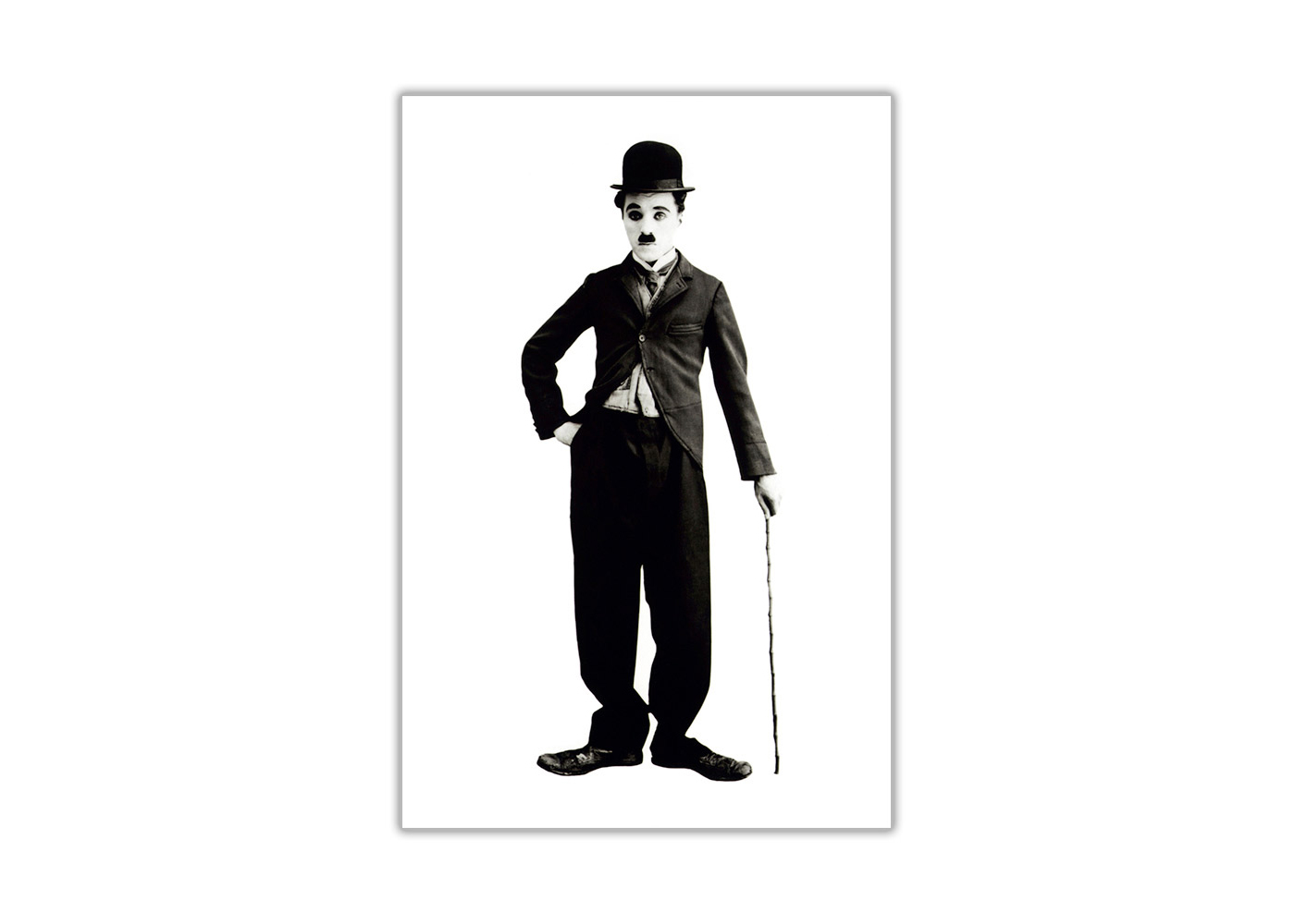 1400x1000 Black And White Charlie Chaplin Poster Wall Art Prints Hollywood