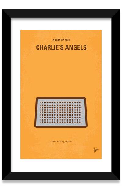 400x617 Crime Minimalist Movie Posters Framed Art Prints By Chungkong