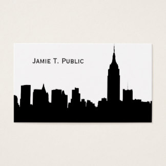 324x324 Silhouette Skyline Business Cards Amp Templates Zazzle