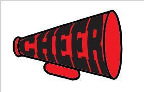 284x182 Cheer Megaphone Vector Svg Dxf Cricut Silhouette Cutting File