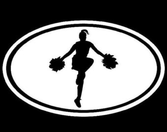 340x270 Cheer Silhouettes Etsy