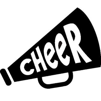 cheer silhouette clip art at getdrawings com free for personal use rh getdrawings com free clipart cartoon cheerleaders