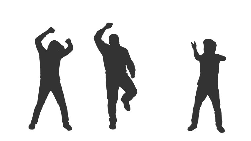852x480 Couple Dancing Silhouettes. 4 In 1. More Options In My Portfolio