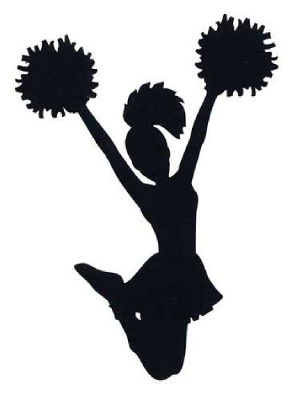 cheerleader clipart silhouette at getdrawings com free for rh getdrawings com cheerleader clipart images cheerleader clipart images