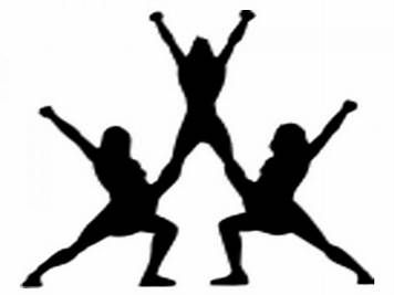 356x267 Image Result For Cheerleader Silhouette Clip Art Footballcheer