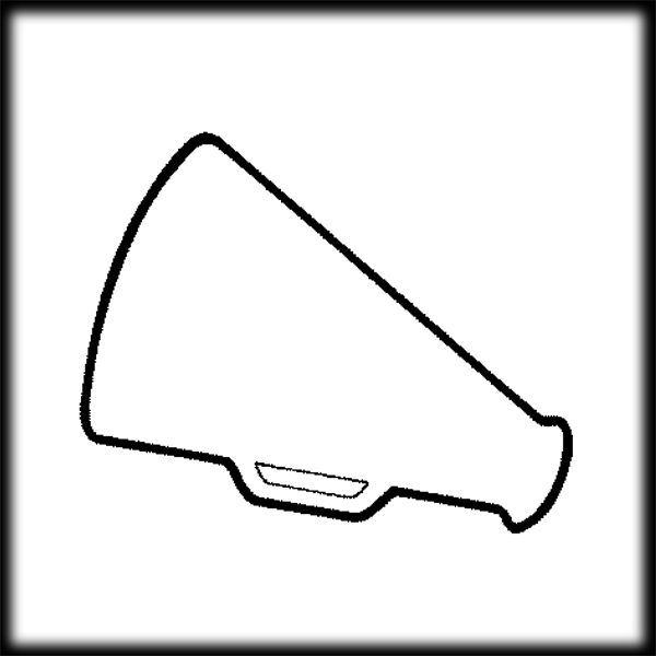 600x600 Cheerleading Silhouette Clip Art Clipart