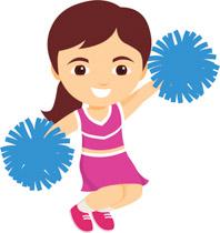 198x210 Cheerleader Clip Art Clipartlook