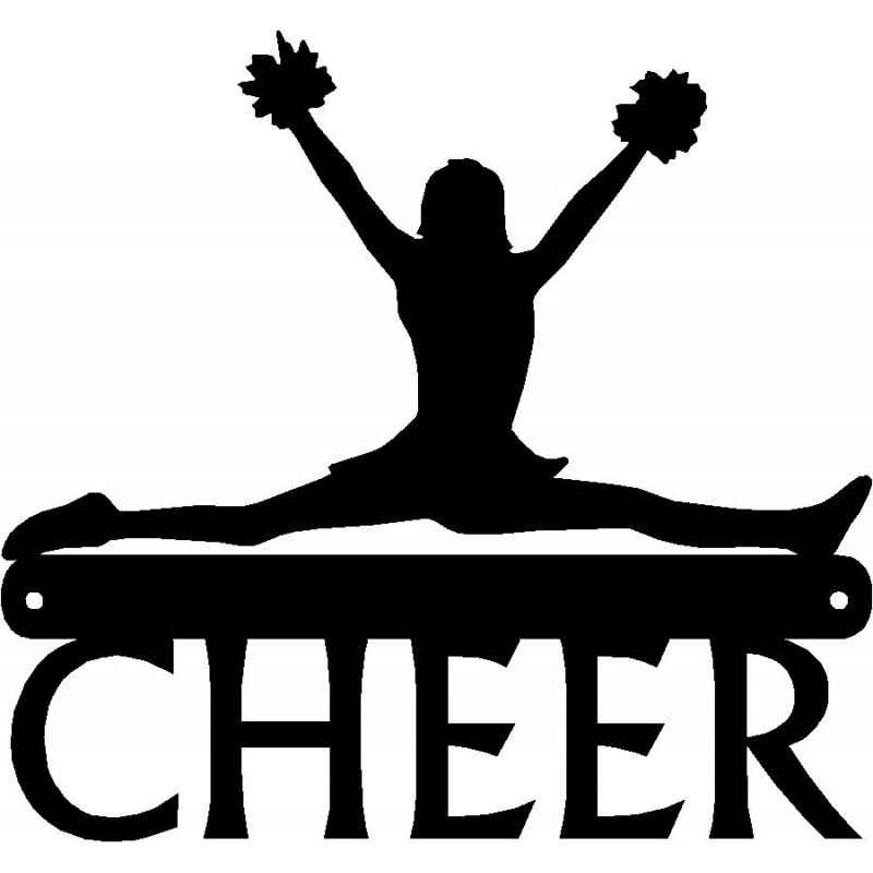 cheerleader silhouette clipart at getdrawings com free for rh getdrawings com Megaphone Clip Art Black and White Volleyball Net Clip Art