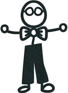 219x300 Silhouette Stick Figure Clipart