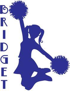 236x304 Cheerleader Silhouette Clip Art