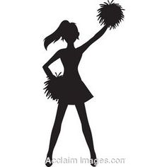 cheerleader silhouette stunt at getdrawings com free for personal rh getdrawings com cheerleading clipart black and white cheerleader clipart images