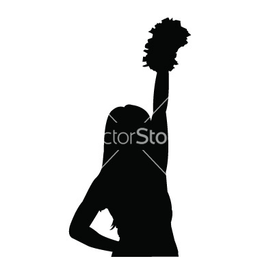 380x400 16 Cheerleader Vector Art Images