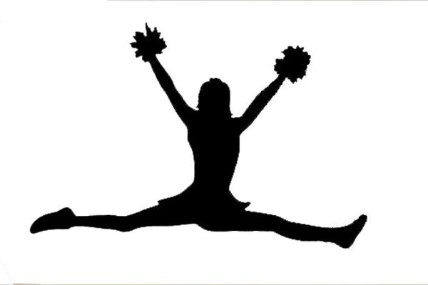 600x400 Sports Wall Decal Art Sticker Quote Vinyl Girls Room Cheerleader