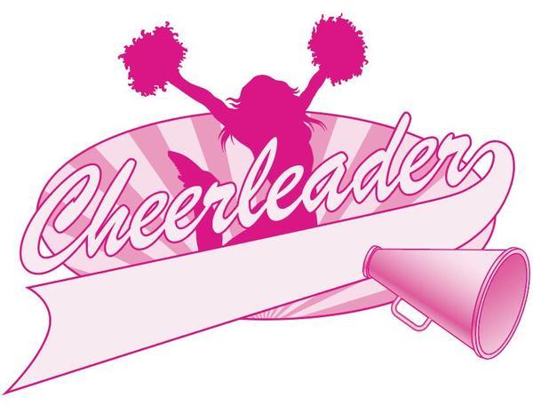 600x456 Cheerleader Jump Logo Design Vector