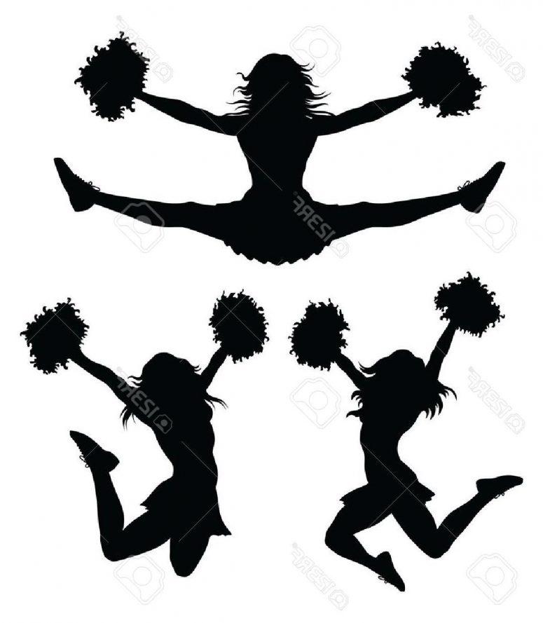 775x889 Cheerleading Clipart Jumps