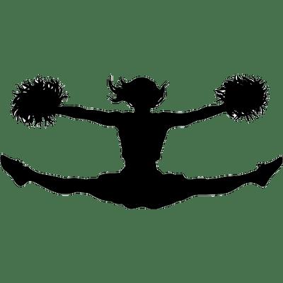 cheerleading silhouette clip art at getdrawings com free for rh getdrawings com cheerleader silhouette clip art free cheer silhouette clip art