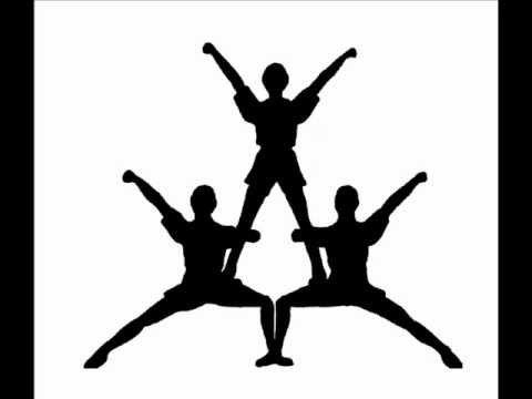 480x360 Cheerleaders Drawing Stunts