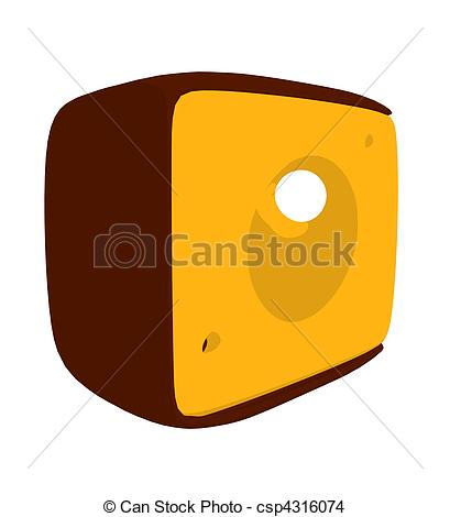 409x470 Cheese Slices Illustration Silhouette. Cheese Slices Drawing