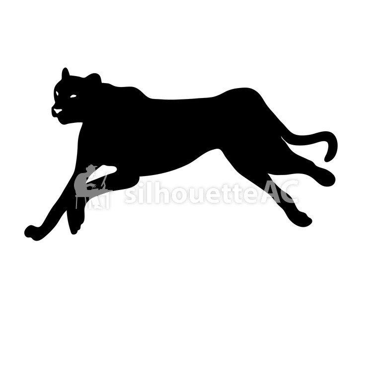 749x750 Free Silhouette Vector Mammals, Animal